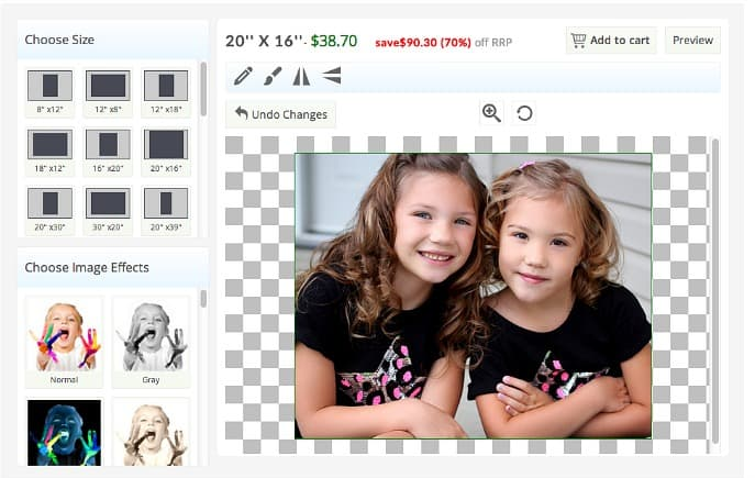 canvas print online order canada