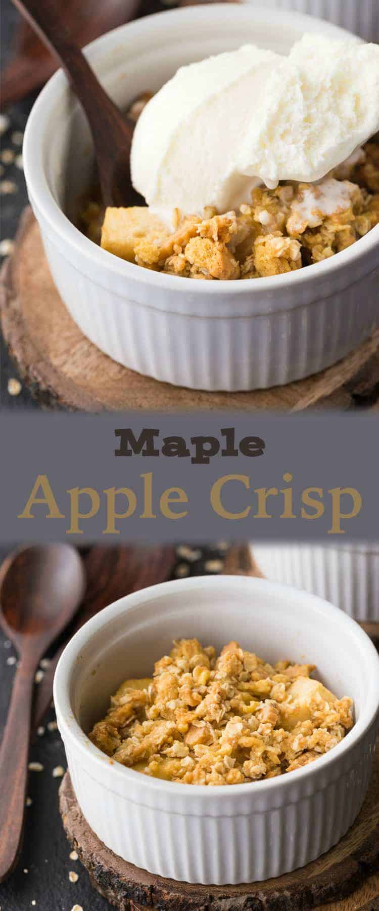 Best Ever Maple Apple Crisp Recipe