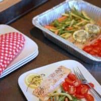 One Dish Salmon Dinner