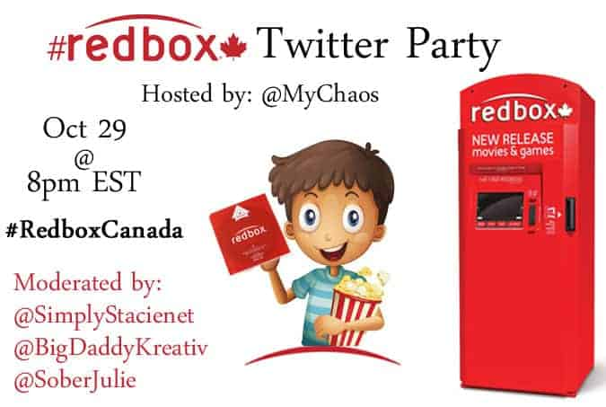Get Your Free Redbox Movie Rental and RSVP for the #RedboxCanada Twitter Party!