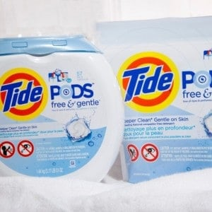 New Tide Pods For Sensitive Skin!