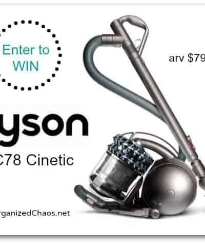 Dyson Cinetic DC78 Vacuum #giveaway