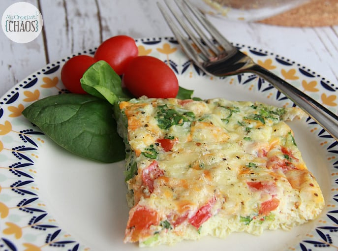 Egg and Vegetable Casserole #CanadianEggs