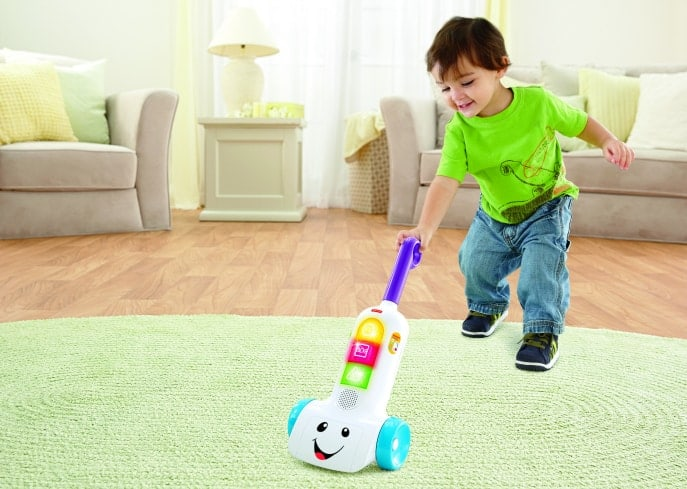 Fisher-Price Smart Stages Vacuum review giveaway