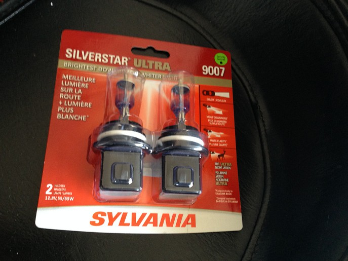 SYLVANIA SilverStar Ultra headlights winter safe driving canada