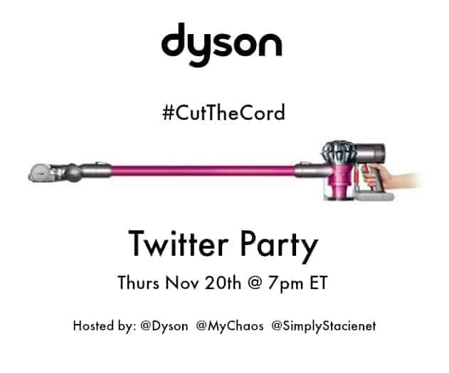 It's Time to #CutTheCord with Dyson!