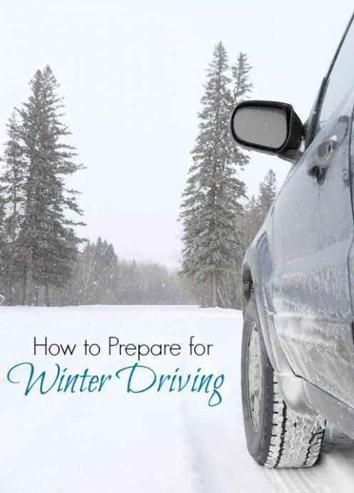 how to prepare for Winter Driving, get your car in winter mode with these easy tips to ensure safety