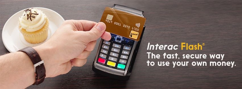 Interac Pay in a Flash #YourChoiceMatters