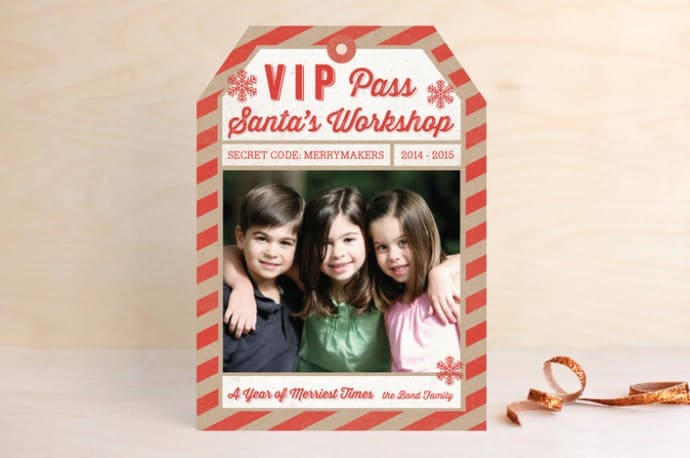 minted christmas holiday photo cards review giveaway