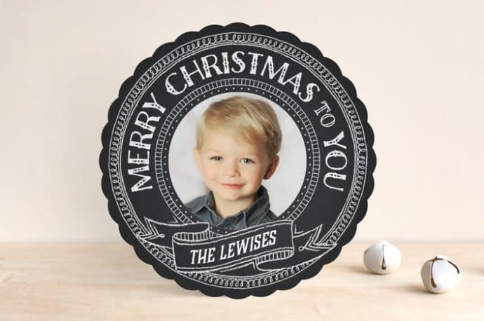 minted christmas photo cards review giveaway