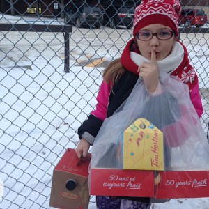Pay it Forward this Holiday Season with Tim Hortons