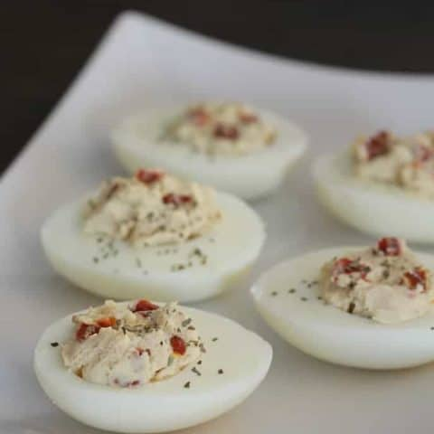 California-Style Devilled Eggs