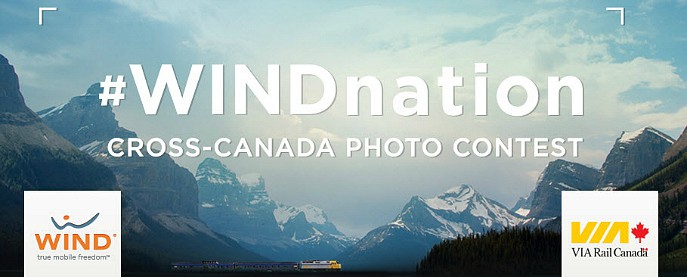 WINDnation cross canada photo contest WIND mobile