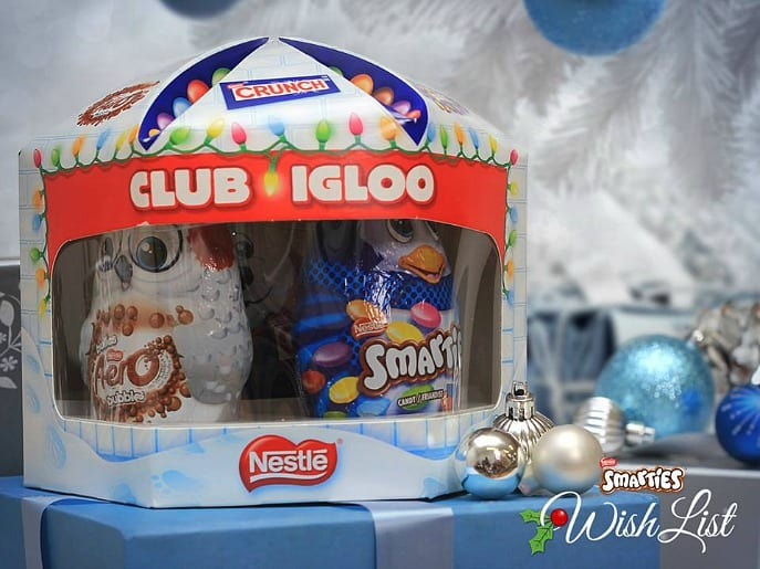 club igloo nestle