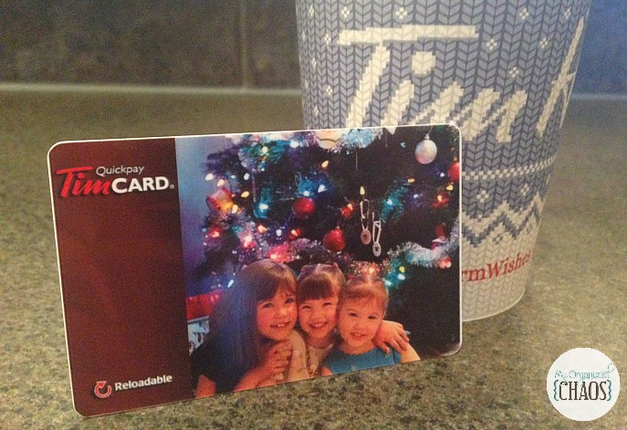 custom tim hortons card