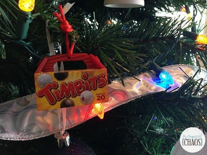 tim hortons tree ornament