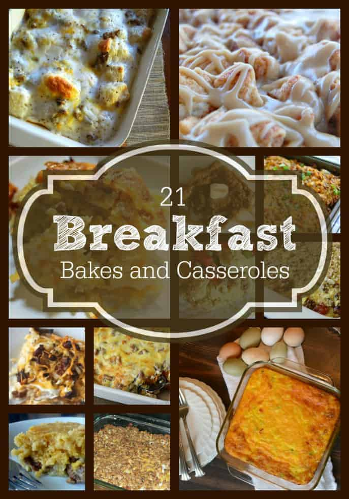 21 Breakfast Bakes and Casseroles recipes