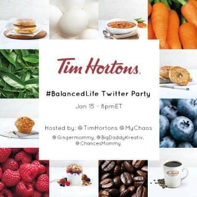 #BalancedLife twitter party