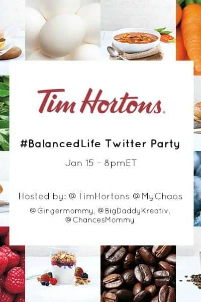There's More Good to Love at TimHortons – #BalancedLife Twitter Party