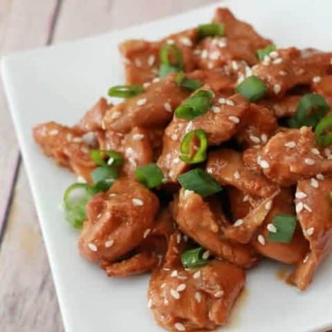 Slow Cooker Orange Chicken easy recipe
