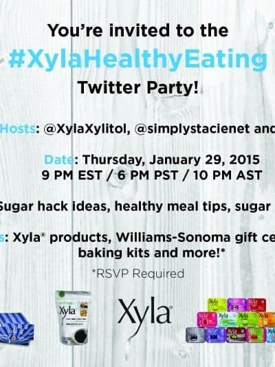 All-Natural Sugar Alternative – #XylaHealthyEating Twitter Party