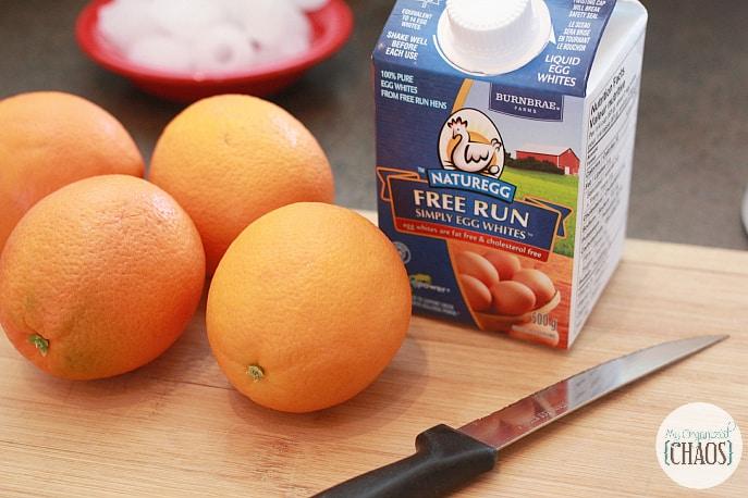 resh orange smoothie recipe eggs whites