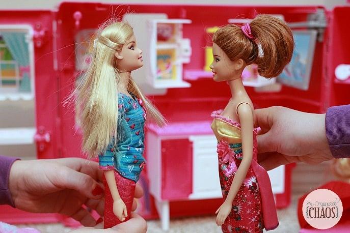 twins sister dynamics barbie play barbieproject