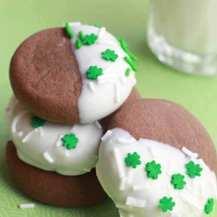 baileys chocolate cookies st particks day recipe