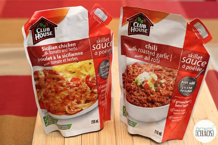 club house skillet sauces canada review