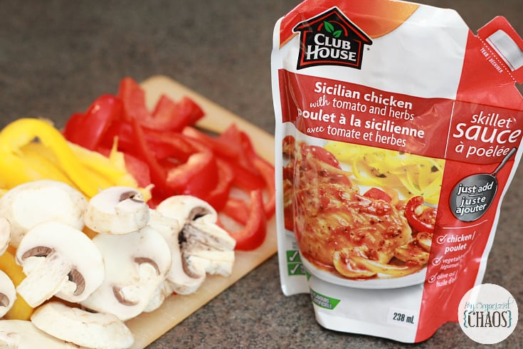 club house skillet sauces sicilian chicken with tomato and herbs
