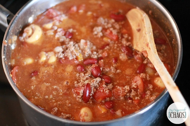 skillet chili easy recipe