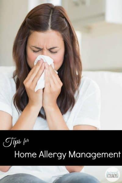 Home Allergy Management
