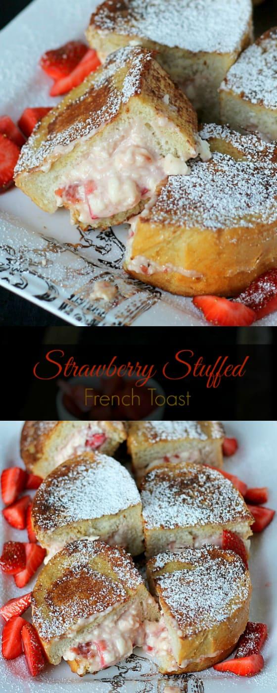 Strawberry Stuffed French Toast recipe