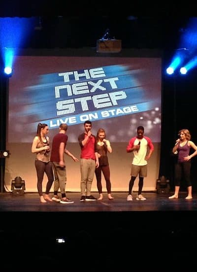 The Next Step: Live On Stage
