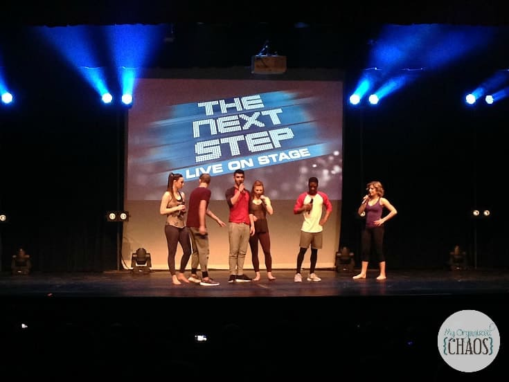 the next step live on stage 2