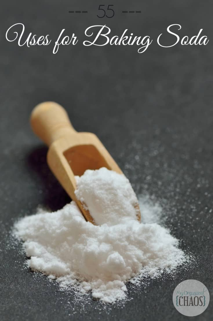 55 uses for baking soda