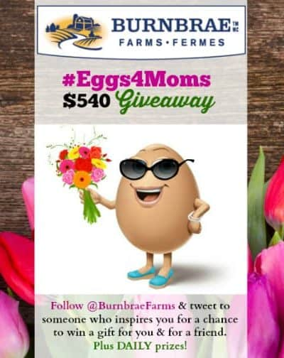 Send Mothers Day Love and Win with the #Eggs4Moms Contest