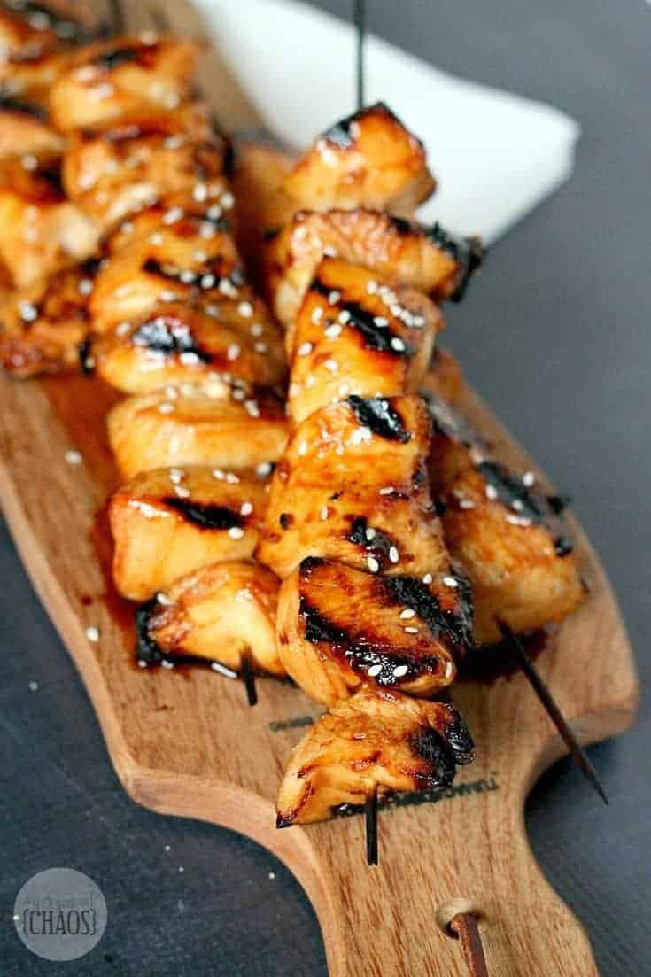 Grilled Chicken Honey Sriracha ...