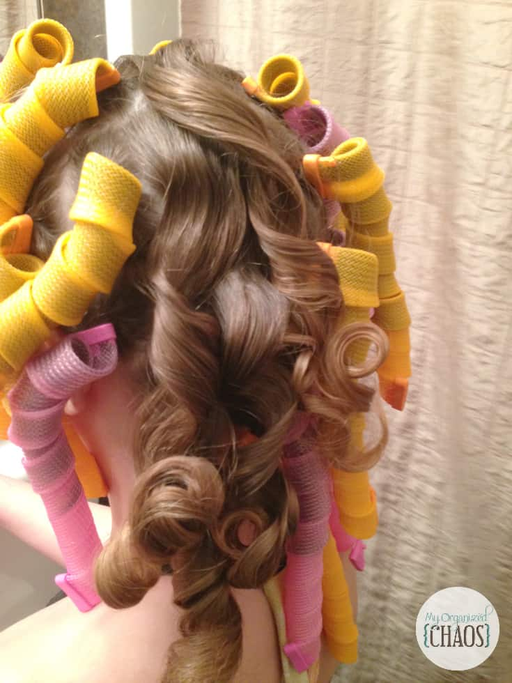 how to use curl formers curlers