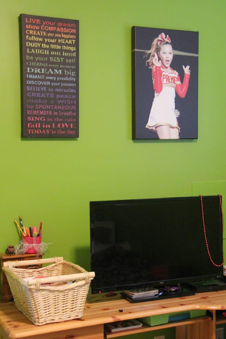 posterjack canvas print pre-teen bedroom