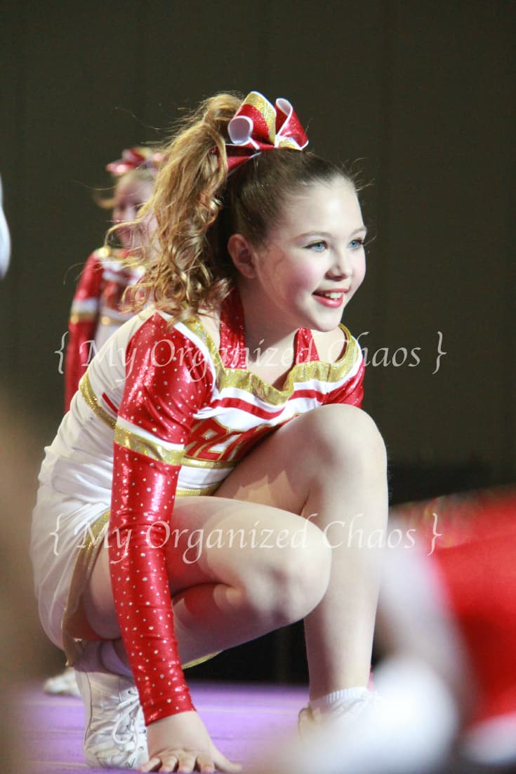 taking photos of cheer and dance competitions