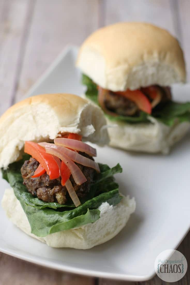 Balsamic Meatball Sliders