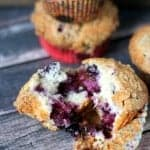 Blueberry Coffee Cake Muffins recipe