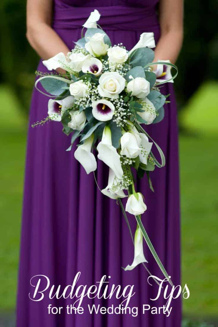 Budgeting Tips for the Wedding Party