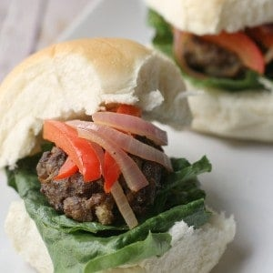 Balsamic Meatball Sliders