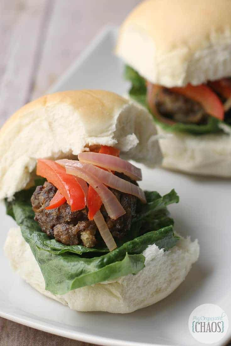 Meatball Sliders recipe balsamic