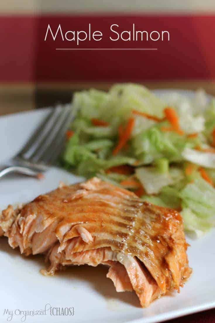 Maple Salmon Recipe — Dishmaps