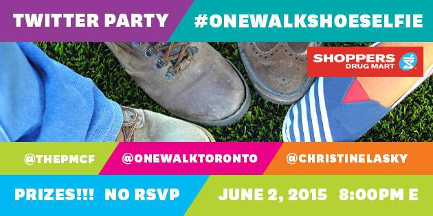 onewalkshoeselfie twitter party