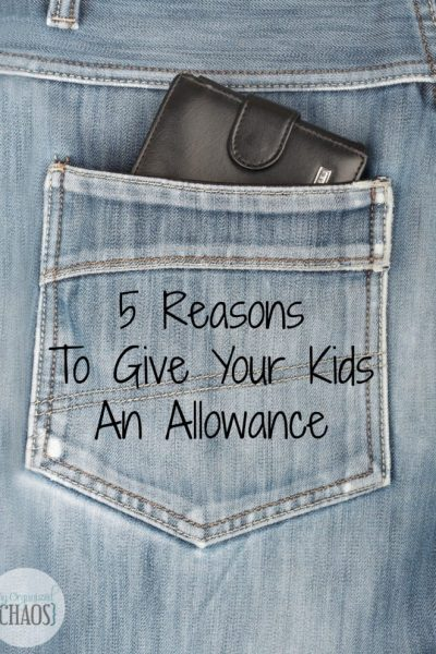 5 Reasons To Give Kids An Allowance