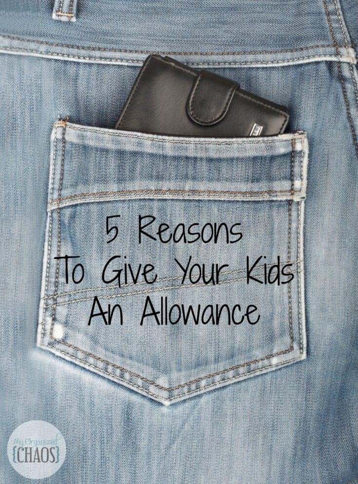5 Reasons To Give Kids An Allowance